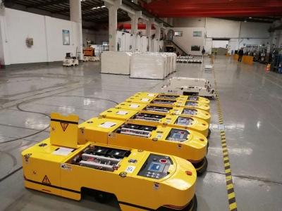 机器人系统集成应用--AGV搬运机器人
