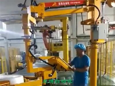 轻工行业应用---卷料搬运