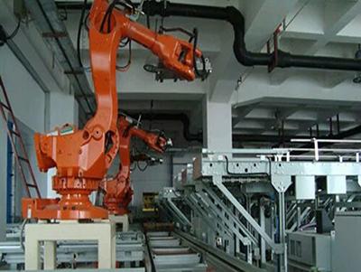 自动码垛机器人集成应用