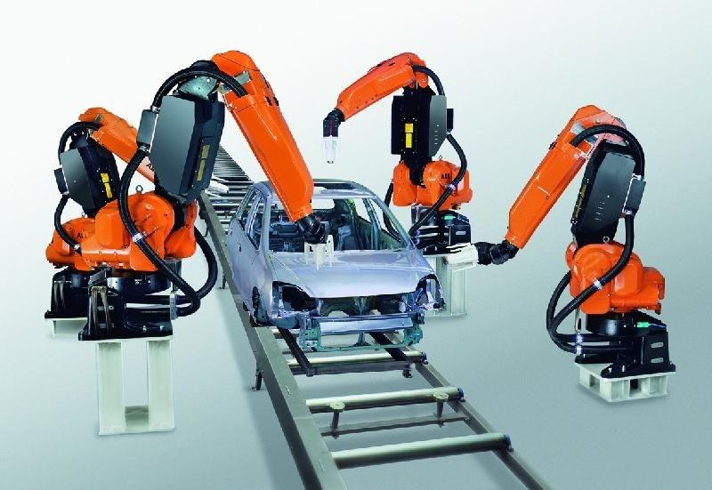 喷涂机器人系统集成应用