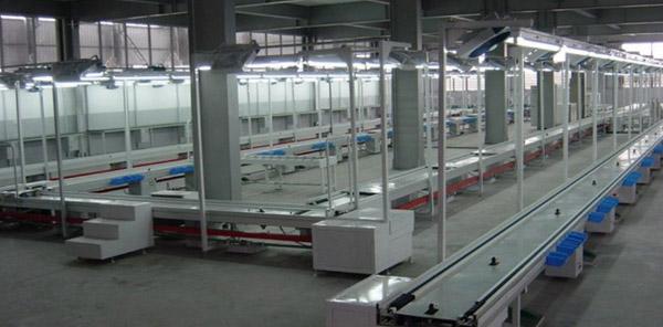 饮水机组装生产线