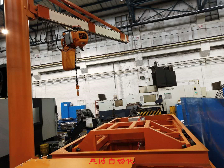 高铁车轮制造用助力机械手