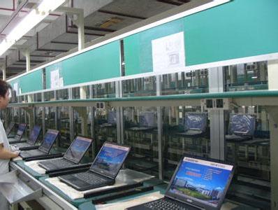笔记本电脑自动化流水线