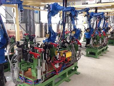 焊接机器人的集成应用