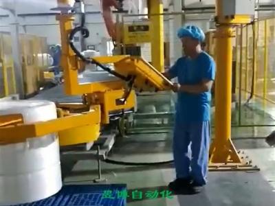 卷料搬运气动助力机械手